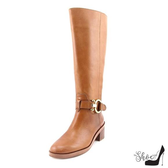 "Coach Shoes - Coach 5.5 ""Carolina Calf"" Riding Boots #A00699"